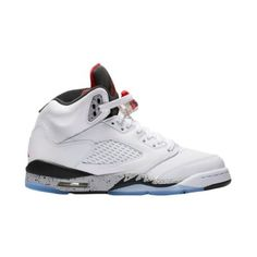 fe26824d61d860 Jordan Retro 5 - Boys  Grade School - Shoes ( 140) ❤ liked on Polyvore  featuring shoes