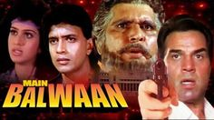 Watch Dumdaar action by Dharmendra & Mithun Chakraborty in superhit film Main Balwaan.   Other actors include Meenakshi Sheshadri, Utpal Dutt, Rita Bhaduri, Suresh Oberoi and Raza Murad