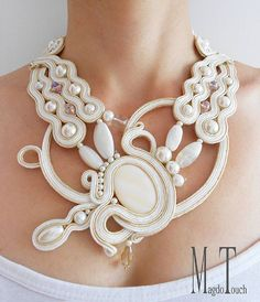 #goodmorning #instafashion #love #bride #instawedding #jewelry #necklace #soutache #her #womensfashion #weddingplanning #stylish #engagement #bridesmaid #groom #original #design #artfromtheheart #nyc #etsy