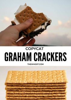 You will love to make this Homemade Copycat Graham Crackers Recipe and we have a video tutorial to show you how. It's easy and better than store bought.