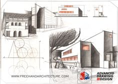 Freehand Architecture - Architectural Drawing and Design Design Inspiration, Layout, Concept, Drawings, Page Layout, Sketches, Drawing, Portrait, Draw