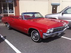 1965 Chevy Impala Super Sport Convertible