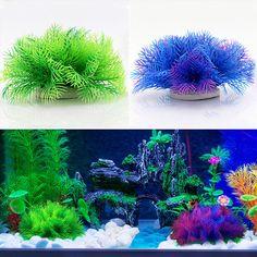 Decorations Artificial Plastic Fake Grass Water Plant Home Fish Tank Aquarium Ornament Decor & Garden