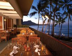 Chuck's in the Outrigger Hotel - good food and beautiful view!