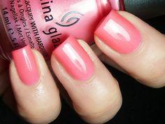 China Glaze - Pink Plumeria