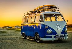 VW Bus Junkies - Classic VW Bus Owners and Fans  SURF BUS! Where we want to be right now grin emoticon Dave Shipman says...Nice bus, a fella i know was at bognor regis and saw this bus and took a photo...sweet dude!   ♔ pinned by http://www.waterfront-properties.com/fortlauderdalewaterfronthomes.php
