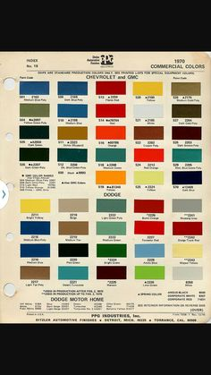 67 72 Chevy Truck Parts >> 1966 chevy truck factory color code - The 1947 - Present ...