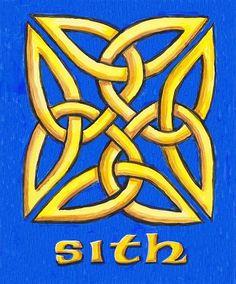 "Interesting that it became ""Revenge of the Sith"" Scottish Symbols, Scottish Gaelic, Celtic Symbols, Celtic Art, Celtic Knots, Celtic Patterns, Henna Patterns, Celtic Designs, Irish Eyes Are Smiling"