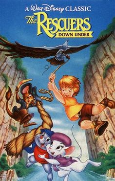 The Rescuers Down Under. Probably the most underrated Disney movie! Plus it had the only Disney character ever named Joanna. Disney Pixar Movies, Disney Animated Movies, Disney Nerd, Cartoon Movies, Walt Disney, Comedy Movies, Disney Family, Disney Stuff, Retro Video