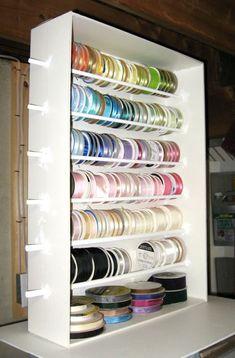 Let's Make A Ribbon Shelf - Foam Core