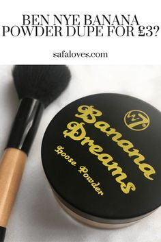 Here's my review for the £3 Ben Nye Banana Powder dupe, the W7 Banana Dreams Loose Face Powder! Is it a dupe or a dud? Read to find out. Banana Powder Dupe, Kat Von D Eyeshadow, How To Find Out, Make Up, Ben Nye, Face Products, Loose Powder, Makeup Dupes, Boom Boom