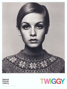 Twiggy, 1966 Art Print by Barry Lategan at King & McGaw