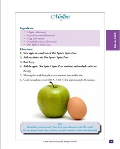 Cohen Diet Recipes, Banting Diet, Stew, Healthy Eating, Yummy Food, Apple, Meals, Fruit, Diets