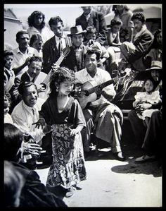 Little dancing gypsy girl
