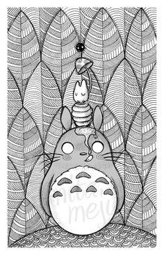Totoro fan-art (via Anita Mejia)