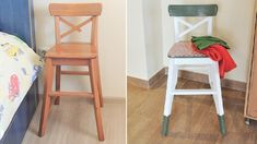 My Creative Makeover for an Ikea Ingolf Stool