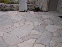 Patio Made With Fondulac Flagstone