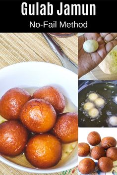 This is the ultimate gulab jamun recipe! They are popular Indian dessert which is rich, soft, juicy, melt in your mouth and irresistible. You will learn how to make perfect gulab jamuns with this no-fail recipe. I am sharing the traditional method where gulab jamun is made with khoya (mawa). Also, sharing all the tips and tricks to perfecting them. Jamun Recipe, Clarified Butter Ghee, Gulab Jamun, Indian Desserts, Melt In Your Mouth, Something Sweet, Spice Things Up, Curry, Spices