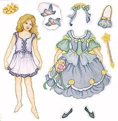 Dover Cinderella Sticker Paper Doll