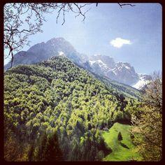 #italy #mountains somewhere around #Bergamo