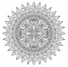 Relax While You Create With These Free Mandala Coloring Pages