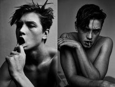Meet Swedish Model and Hockey Player Simon Loof | V Man