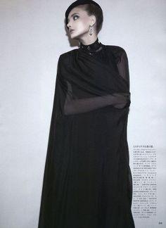 """The Reluctant Mistress"" : Snejana Onopka : Vogue Japan July 2011 : Glen Luchford"