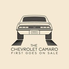 This Day In History - Sept 29 - 1966 - The Chevy Camaro first goes on sale. -- #thisdayinhistory #todayinhistory #tdih #history #chevy #chevrolet @chevrolet @camaro #muscle #musclecar #ponycar #1966 #america #usa #garage #car #automobile #365project #illustration #vector #art #adobe #onthisday