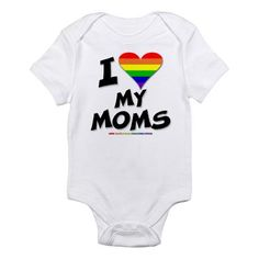 Two moms Onesie Cute Outfits For Kids, Baby Boy Outfits, Cute Kids, Lesbian Moms, Baby Couture, Dream Baby, Clothes Pictures, Cute Baby Clothes, Baby Girl Fashion
