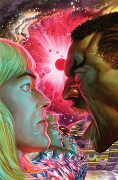 Kirby Genesis: Captain Victory #3 by Alex Ross *