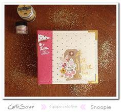 """Mini Album """"Essayages"""" par Snoopie sur le blog de Cartoscrap (Tuto offert)"""