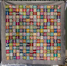 Gone Aussie Quilting: Butterfly Spool Quilt Finished