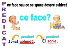 Părţile de propoziţie 4 Kids, Diy For Kids, Children, Romanian Language, Scarecrow Crafts, Teaching Grammar, Kids Education, Speech Therapy, Kids And Parenting