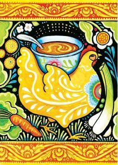 "New ""Get Well"" card from Julie Paschkis"