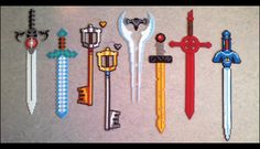 Beads - Swords Collection by Oggey-Boggey-Man on deviantART …