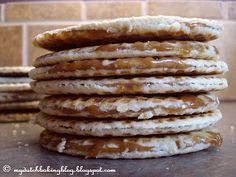 My Dutch Baking Blog: Stroopwafels (Dutch Caramel Waffles)