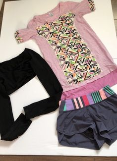 3 Piece Ivivva Lot Size 10   | eBay Lulu Love, Teen Fashion, 3 Piece, Lululemon, Gym Shorts Womens, Size 10, Outfits, Clothes, Shoes