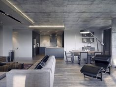 4 Dark Living Rooms With Strong Personality - http://www.assessmyhome.com.au/4-dark-living-rooms-with-strong-personality/      Like Architecture & Interior Design? Follow Us…     These dark and moody living rooms embody a style that magazines might even describe as a masculine decor aesthetic, but just about anyone can appreciate any one of them. This post opens with a sleek industrial interior that takes... http://cdn.home-designing.com/wp-content/uploads/2016/09