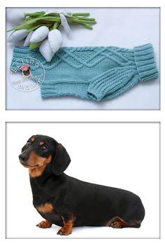 к сожалению модели поблизости не нашлось ))) Knitted sweater on the dog breed…