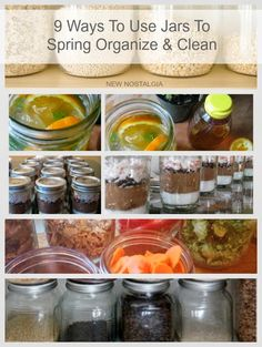 9 Ways To Use Jars To Spring Organize And Spring Clean #FreshandFab #ad #pmedia