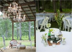 Backyard Barn Wedding