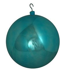 """$49.99-$79.99 Huge Commercial Shiny Aqua Shatterproof Christmas Ball Ornament 16"""" (400mm) - Giant Commercial Size Shatterproof Christmas Ball Ornament Item #15203 This very unique hard to find item is perfect for commercial decorating, onlookers will be amazed by its size and beauty.  The best part about our shatterproof ornaments is that they look just like glass and they're ideal for public di ..."""