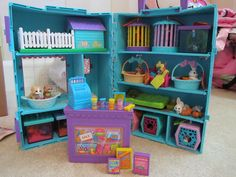 My Littlest Pet Shop Playset - before they got all huge and weird-looking. Still have mine...