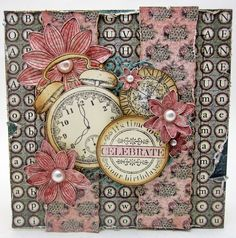 Heartfelt Creations Celebrates - Created by Lori Williams of Pinkcloud Scrappers