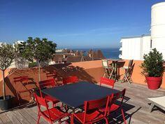 Abritel Location Biarritz Terrasse de 47 m2, Vue Mer plage à 50 m location appartement dans la Côte Basque Appartement duplex…