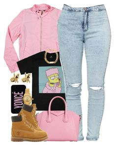 """Untitled #1320"" by power-beauty ❤ liked on Polyvore featuring Members Only, Rolex, Timberland and Han Cholo"