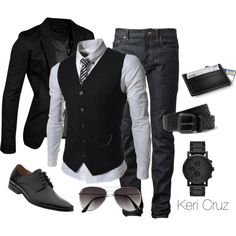 Sharp & Classy, created by keri-cruz on Polyvore