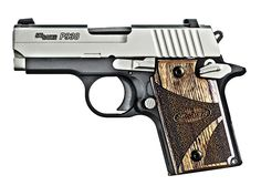 Sig Pistol 3 in, Blackwood Grip, Two-Tone Finish, Night Sights, 6 Rd - Able Ammo Sig Sauer P238, Sig Sg 550, Night Sights, Tola, Airsoft Guns, Guns And Ammo, Concealed Carry, Self Defense, Firearms