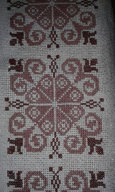 Cross Stitch Designs, Cross Stitch Patterns, Samara, Needle And Thread, Knitting Needles, Needlepoint, Hand Embroidery, Bohemian Rug, Needlework
