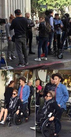 Big Bang Seen Filming Music Video In United States | Koogle TV
